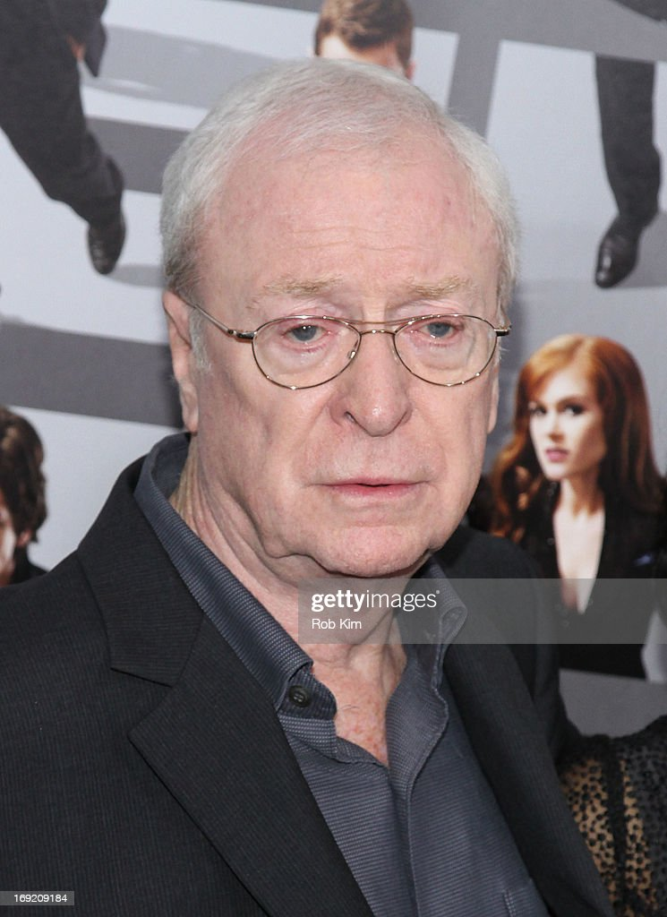 <a gi-track='captionPersonalityLinkClicked' href=/galleries/search?phrase=Michael+Caine+-+Actor&family=editorial&specificpeople=159746 ng-click='$event.stopPropagation()'>Michael Caine</a> attends the 'Now You See Me' New York Premiere at AMC Lincoln Square Theater on May 21, 2013 in New York City.
