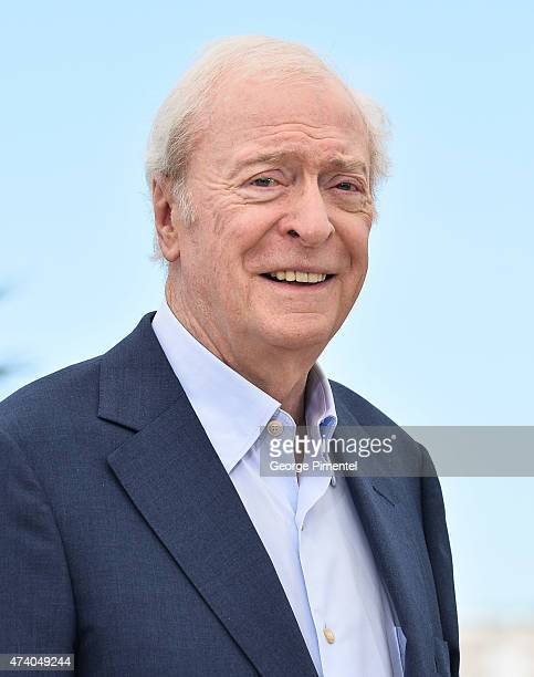Michael Caine attends the 'Youth' Photocall during the 68th annual Cannes Film Festival on May 20 2015 in Cannes France