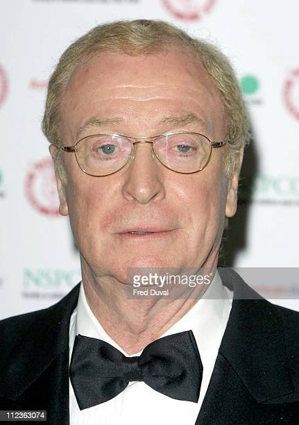 Michael Caine during The 23rd Awards Of The London Film Critics' Circle held at the Dorchester Hotel In Aid Of NSPCC at Dorchester Hotel in London...