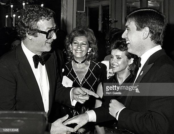 Michael Caine Mrs Roger Moore Sheena Easton and Prince Andrew
