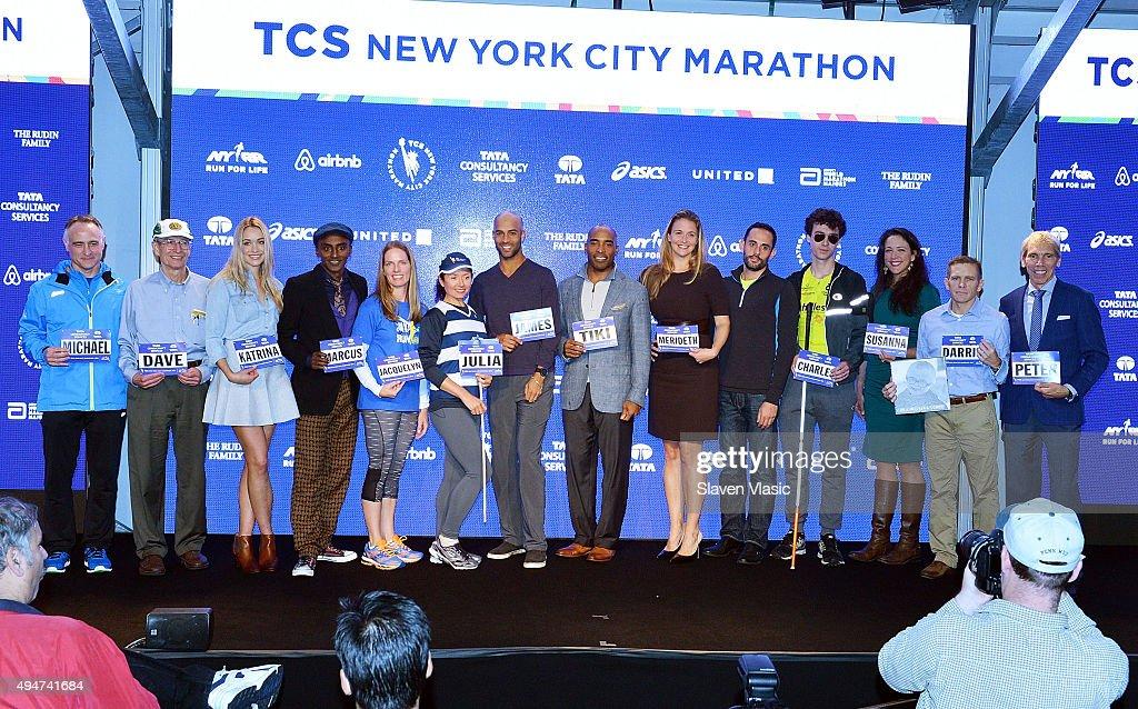Faces Of The 2015 New York City Marathon Media Photocall