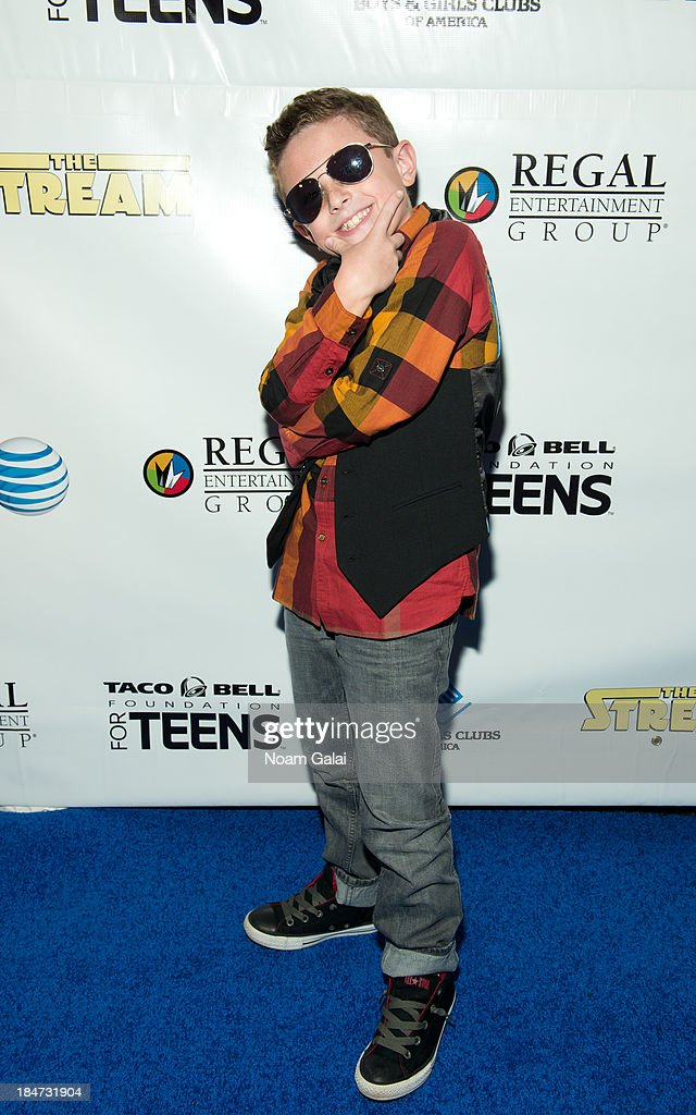 Michael Capperella attends the Boys & Girls Clubs of America New York screening of 'The Stream' at Regal Union Square Theatre, Stadium 14 on October 15, 2013 in New York City.