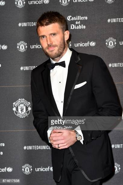 Michael Carrick attends the United for Unicef Gala Dinner at Old Trafford on November 15 2017 in Manchester England