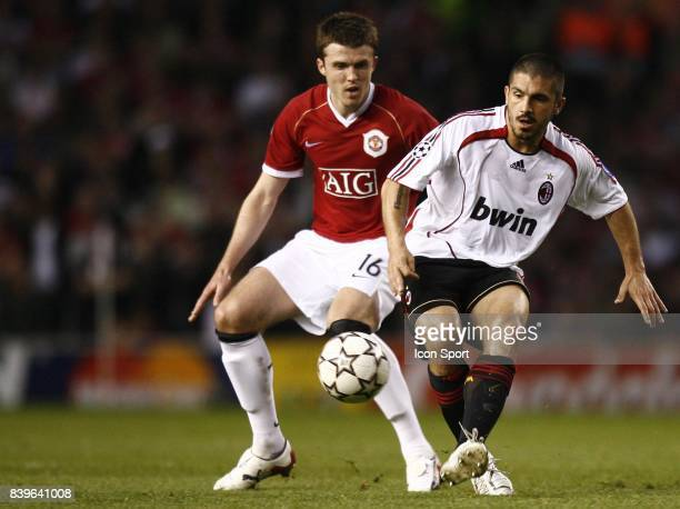 Michael CARRICK / Gennaro GATTUSO Manchester united / Milan AC 1/2 Finale CHampions League 2006/2007