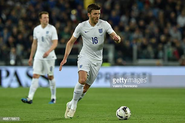 Michael Carrick of England in action during the international friendly match between Italy and England on March 31 2015 in Turin Italy