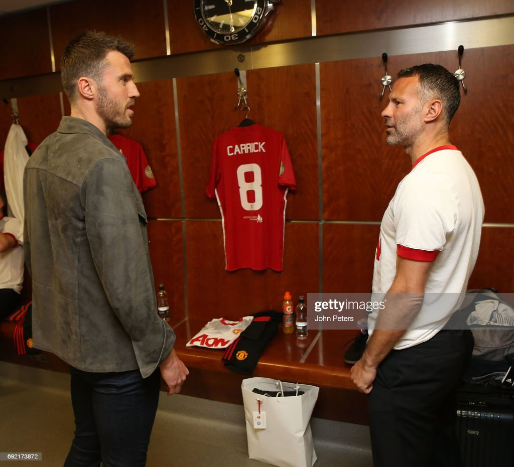 Michel Carrick Testimonial : News Photo
