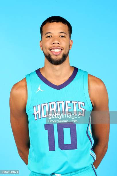 Michael CarterWilliams of the Charlotte Hornets poses for a head shot during media day at Spectrum Center in Charlotte North Carolina NOTE TO USER...