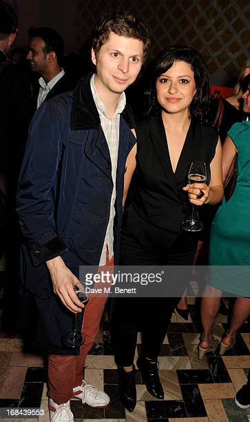 Michael Cera and Alia Shawkat attend an after party celebrating the UK Premiere of the Netflix Original Series 'Arrested Development Season 4' at...