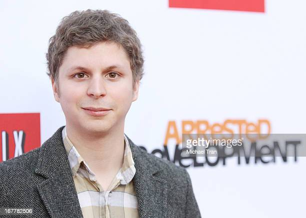 Michael Cera arrives at Netflix's Los Angeles premiere of 'Arrested Development' season 4 held at TCL Chinese Theatre on April 29 2013 in Hollywood...