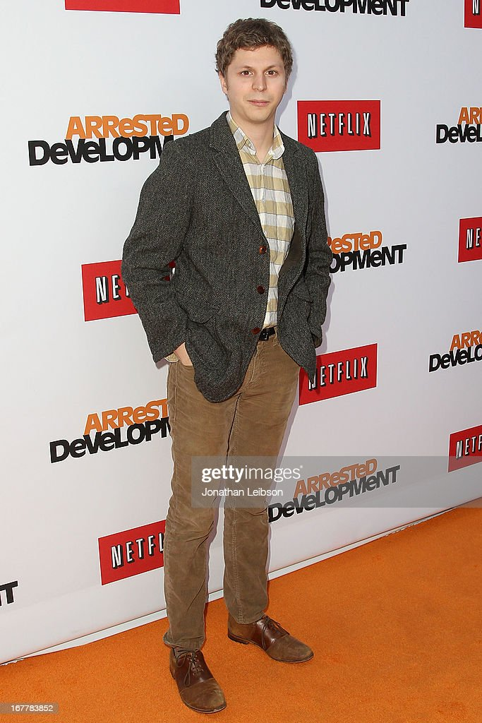 Michael Cera attends the Netflix's Los Angeles Premiere Of 'Arrested Development' Season 4 at TCL Chinese Theatre on April 29, 2013 in Hollywood, California.