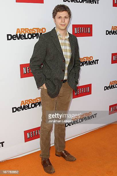 Michael Cera attends the Netflix's Los Angeles Premiere Of 'Arrested Development' Season 4 at TCL Chinese Theatre on April 29 2013 in Hollywood...