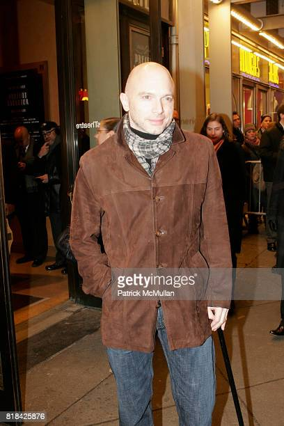 Michael Cerveris attends Opening Night of Present Laughter at American Airlines Theater on January 21 2010 in New York City