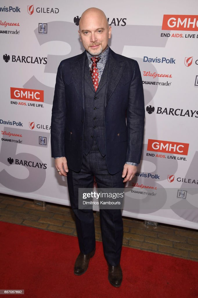 Michael Cerveris attends the GMHC 35th Anniversary Spring Gala at Highline Stages on March 23, 2017 in New York City.