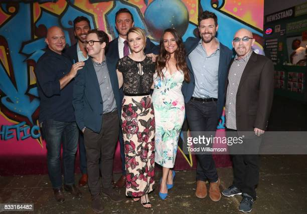 Michael Cerveris Scott Speiser Griffin Newman Peter Serafinowicz Valorie Curry Yara Martinez Brendan Hines and Jackie Earle Haley attend the blue...