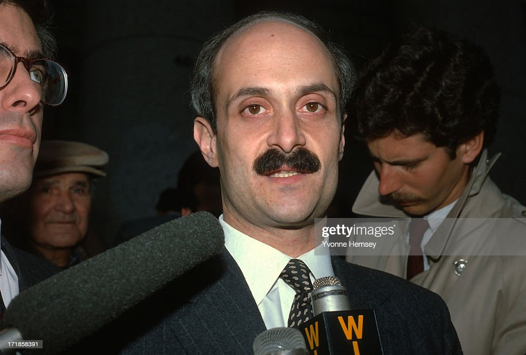 <a gi-track='captionPersonalityLinkClicked' href=/galleries/search?phrase=Michael+Chertoff&family=editorial&specificpeople=204729 ng-click='$event.stopPropagation()'>Michael Chertoff</a>, Assistant US Attorney and lead prosecutor in 'The Mafia Commission Trial', is photographed November 19, 1986 outside the U. S. Courthouse in New York City after winning the case.