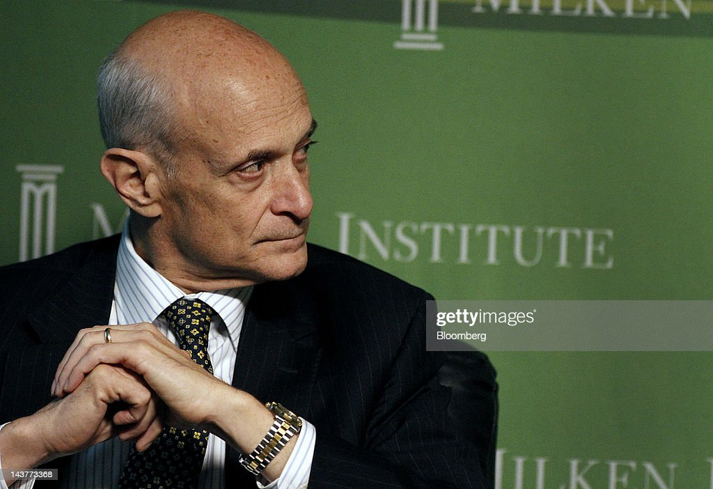 <a gi-track='captionPersonalityLinkClicked' href=/galleries/search?phrase=Michael+Chertoff&family=editorial&specificpeople=204729 ng-click='$event.stopPropagation()'>Michael Chertoff</a>, chairman of the Chertoff Group and former secretary of the U.S. Department of Homeland Security, listens during a panel discussion at the annual Milken Institute Global Conference in Beverly Hills, California, U.S., on Wednesday, May 2, 2012. The conference brings together hundreds of chief executive officers, senior government officials and leading figures in the global capital markets for discussions on social, political and economic challenges. Photographer: Jonathan Alcorn/Bloomberg via Getty Images