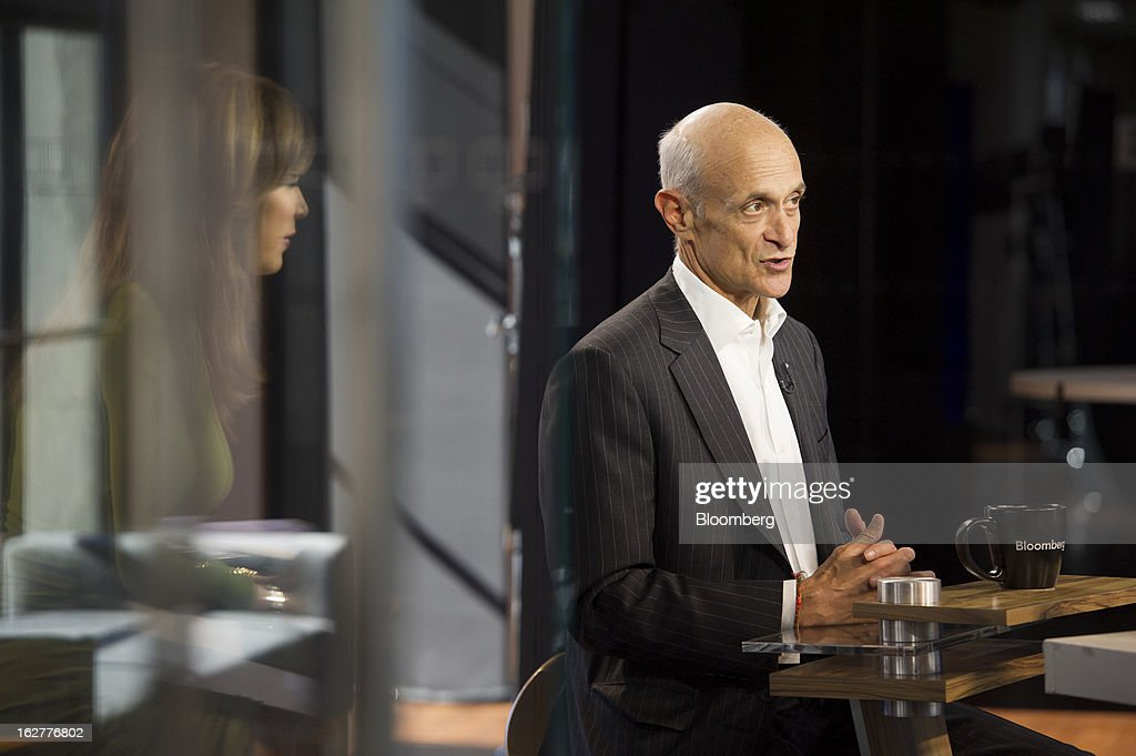 <a gi-track='captionPersonalityLinkClicked' href=/galleries/search?phrase=Michael+Chertoff&family=editorial&specificpeople=204729 ng-click='$event.stopPropagation()'>Michael Chertoff</a>, chairman of the Chertoff Group and former secretary of the U.S. Department of Homeland Security, speaks during a Bloomberg West television interview in San Francisco, California, U.S., on Tuesday, Feb. 26, 2013. The Chertoff Group is a global security and risk management advisory firm with government and business clients. Photographer: David Paul Morris/Bloomberg via Getty Images