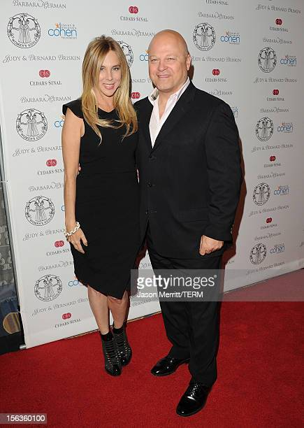Michael Chiklis and Michelle Chiklis attends the 55th Annual Women's Guild CedarsSinai Gala held on November 13 2012 in Beverly Hills California