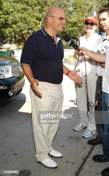 Michael Chiklis during 4th Annual Academy of Arts Sciences Foundation Celebrity Golf Tournament at Riviera Country Club in Pacific Palisades...