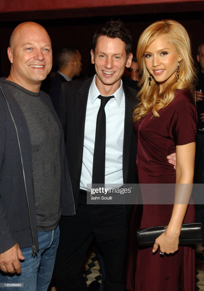Michael Chiklis Jim Nelson editor in chief of GQ Magazine and Jessica Alba