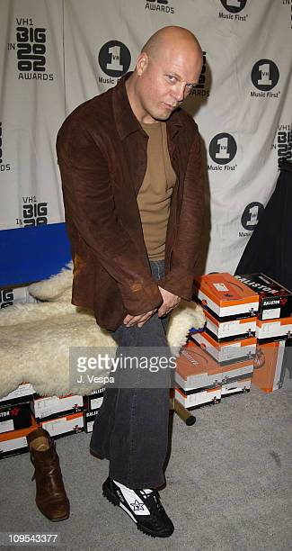 Michael Chiklis with Baliston shoes during VH1 Big in 2002 Awards Backstage Creations Talent Retreat Show Day at Grand Olympic Auditorium in Los...