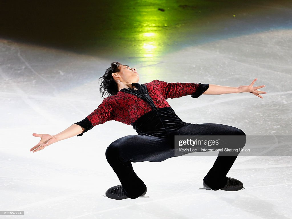 Michael Christian Martinez of Philippines performs at the Gala Exhibition on day four of the ISU Four Continents Figure Skating Championships 2016 at...