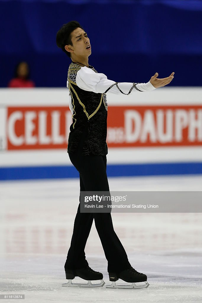 Michael Christian Martinez of Philippines performs during the Men Free Skating on day four of the ISU Four Continents Figure Skating Championships...