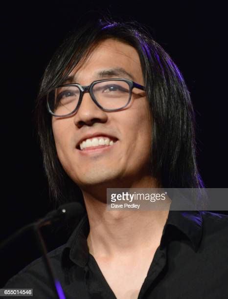 Michael Chu accepts the award for 'Most Promising New Intellectual Property'' for 'Overwatch' onstage at the Gaming Awards Ceremony during 2017 SXSW...