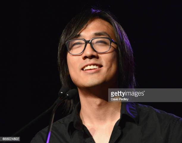 Michael Chu accepts the award for 'Trending Game of the Year' for 'Overwatch' onstage at the Gaming Awards Ceremony during 2017 SXSW Conference and...