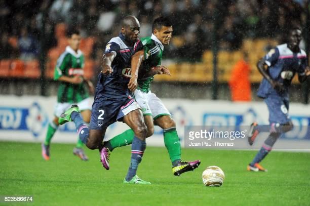 Michael CIANI Idriss SAADI Saint Etienne / Bordeaux 16e finale Coupe de la Ligue