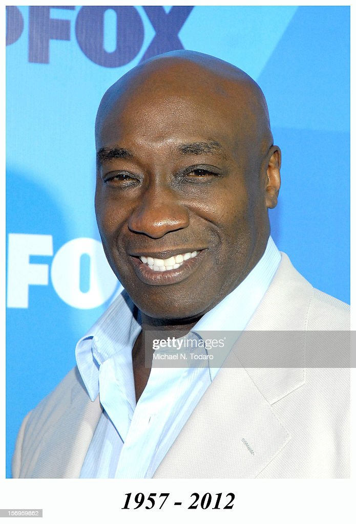 Michael Clarke Duncan attends the 2011 Fox Upfront at Wollman Rink - Central Park on May 16, 2011 in New York City. Michael Clarke Duncan died in 2012.