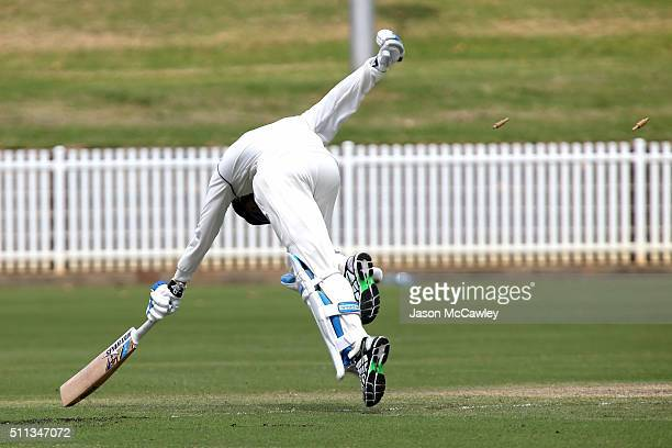 Michael Clarke of Wests bats during the Grade Cricket match between Western Suburbs and Randwick Petersham at Pratten Park on February 20 2016 in...