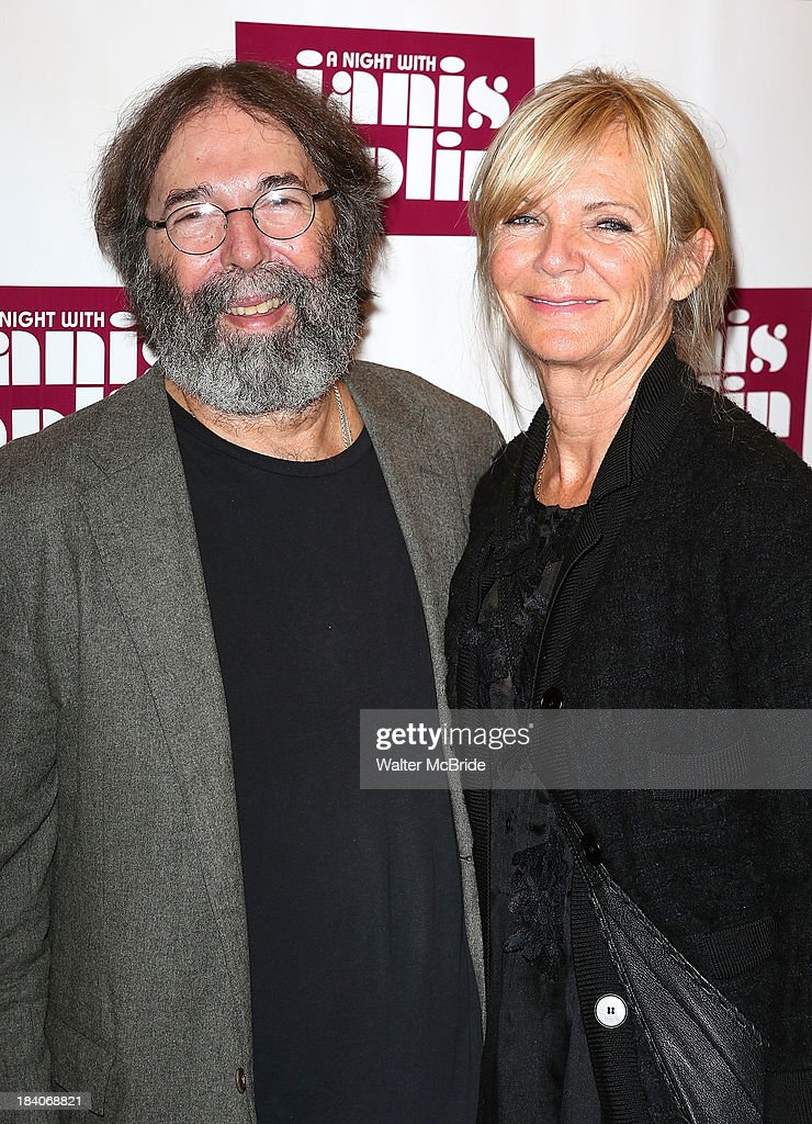 Michael Cohl and Shelley Cohl attend the broadway opening night of 'A Night With Janis Joplin' at Lyceum Theatre on October 10, 2013 in New York City.