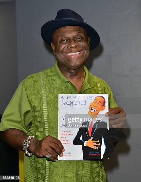 Michael Colyar backstage at the 9th Annual Memorial Weekend Comedy Festival at James L Knight Center on May 29 2016 in Miami Florida