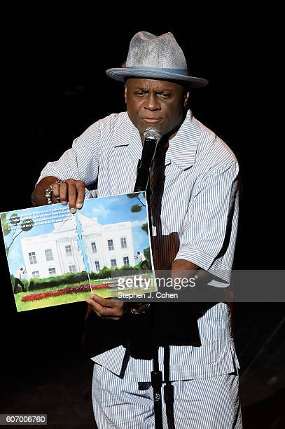 Michael Colyar host Laughter 'N The Ville at Whitney Hall on September 16 2016 in Louisville Kentucky