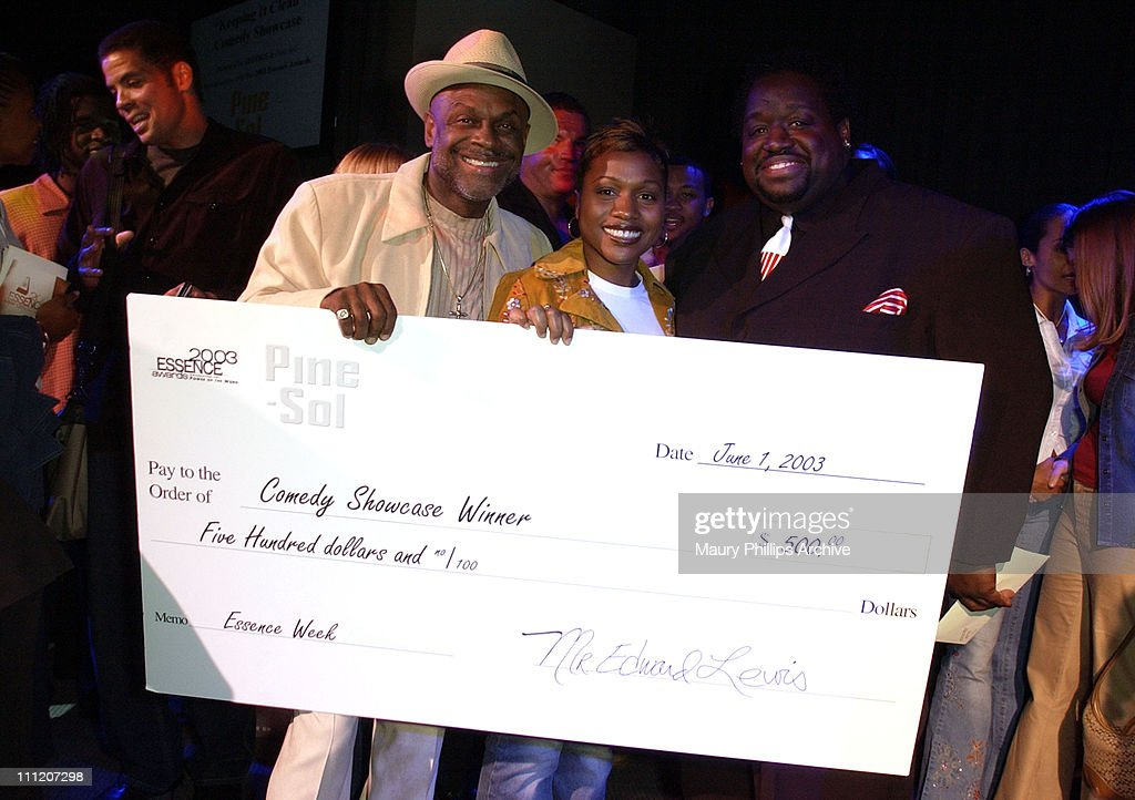 Michael Colyar winner Angel Gaines and Bruce Bruce