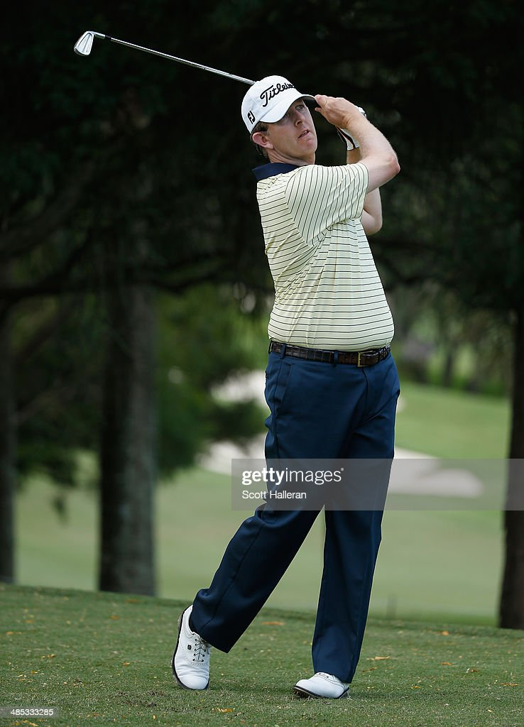 Michael Connell hits a shot during the first round of the 2014 Brasil Champions Presented by HSBC at the Sao Paulo Golf Club on March 13, 2014 in San Paulo, Brazil.
