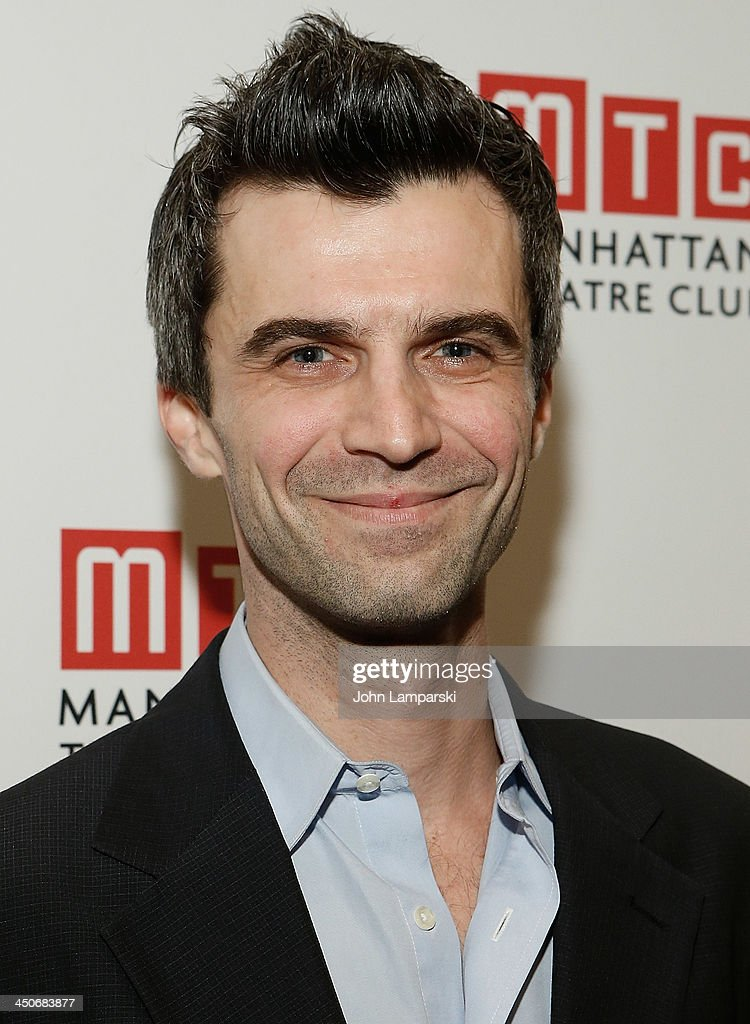 Michael Crane attends the 'Taking Care Of Baby' Opening Night at New York City Center on November 19, 2013 in New York City.