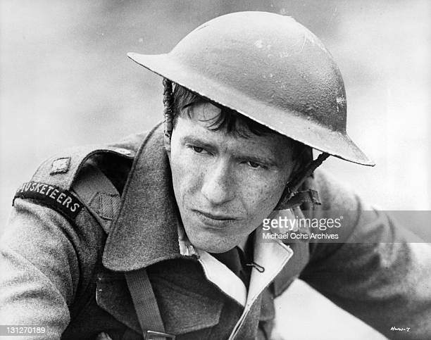 Michael Crawford as Lt Goodbody in a scene from the film 'How I Won The War' 1967