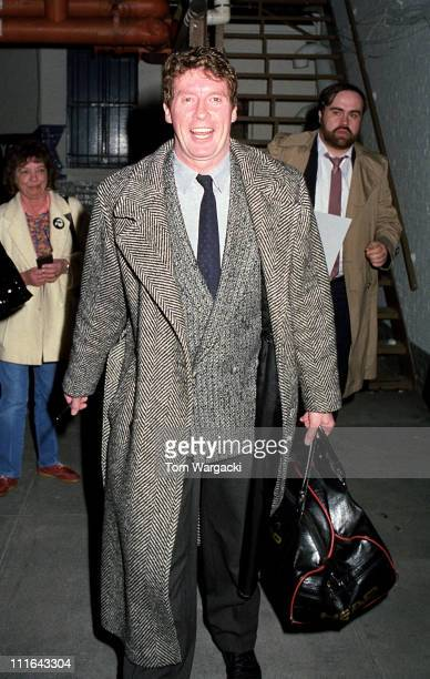 Michael Crawford during Michael Crawford Sighting Outside 'The Phantom of the Opera' February 1988 at Majestic Theatre in New York City United States