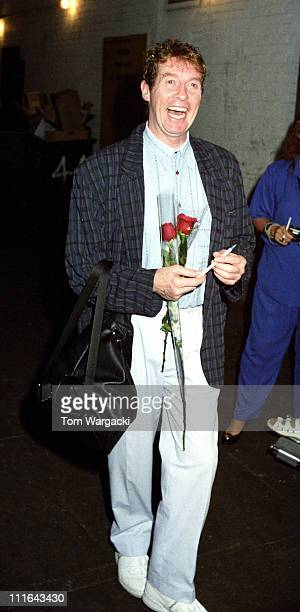 Michael Crawford during Michael Crawford Sighting Outside 'The Phantom of the Opera' August 1988 in New York City United States