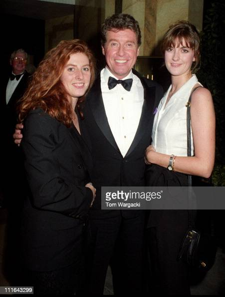 Michael Crawford with his daughters Emma and Lucy