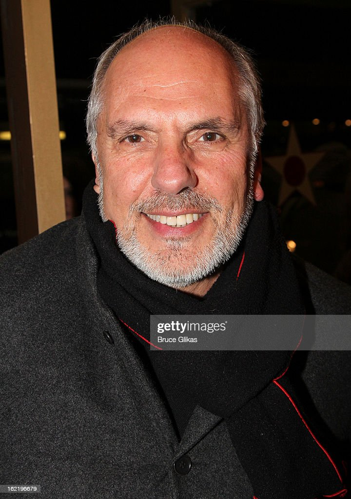 Michael Cristofer attends 'Really, Really' on Opening Night at the Lucille Lortel Theatre on February 19, 2013 in New York, United States.