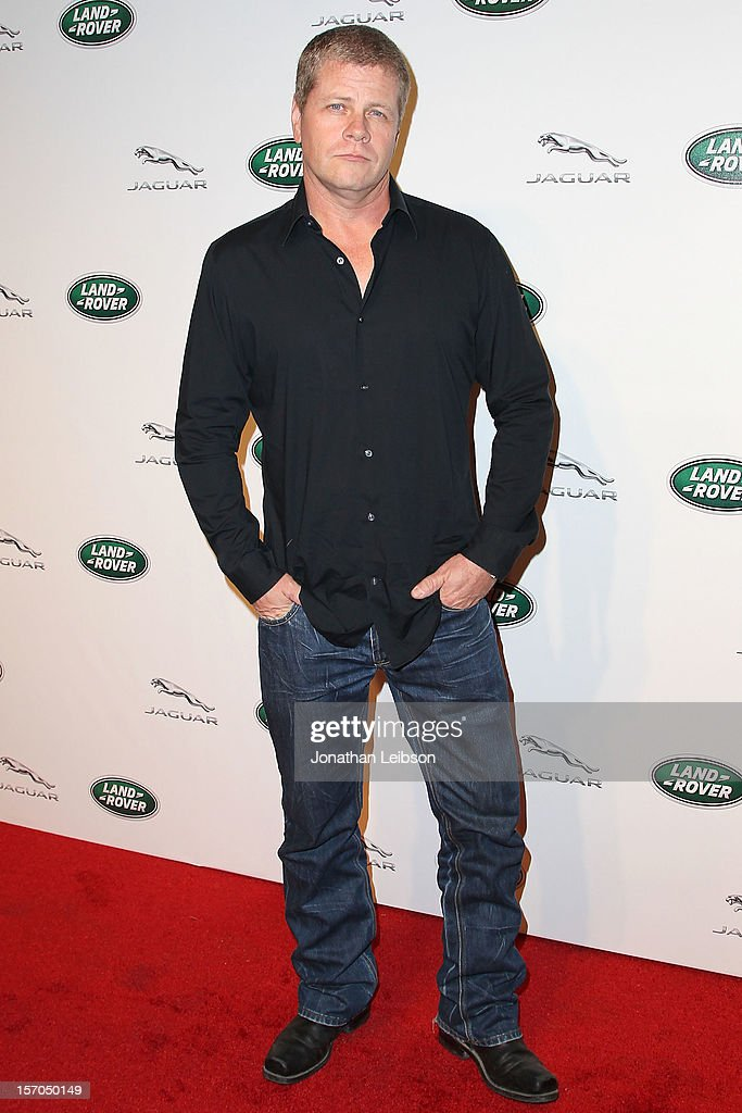 Michael Cudlitz attends the Jaguar And Land Rover Celebrate 2012 Auto Show Arrivals At Paramount Studios at Paramount Studios on November 27, 2012 in Hollywood, California.