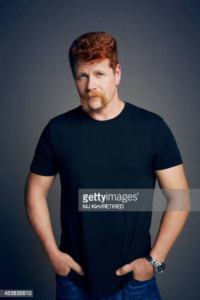 Michael Cudlitz poses for a portrait at the Getty Images Portrait Studio powered by Samsung Galaxy at ComicCon International 2014 on July 24 2014 in...