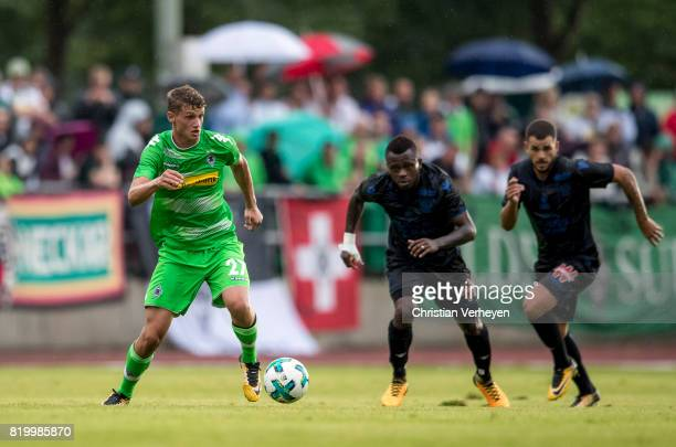 Michael Cuisance of Borussia Moenchengladbach during a friendly match between Borussia Moenchengladbach and OGC Nice on July 20 2017 in RottachEgern...