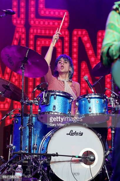 Michael D'Addario of The Lemon Twigs performs in concert during day 1 of the Bonnaroo Music Arts Festival on June 8 2017 in Manchester Tennessee