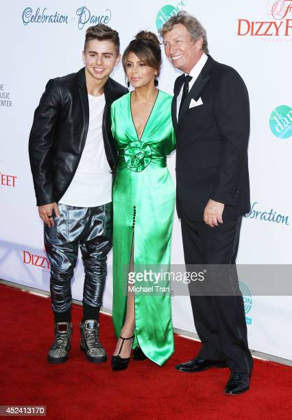 Michael Dameski Paula Abdul and Nigel Lythgoe arrive at The Dizzy Feet Foundation's 4th Annual Celebration of Dance Gala held at Dorothy Chandler...