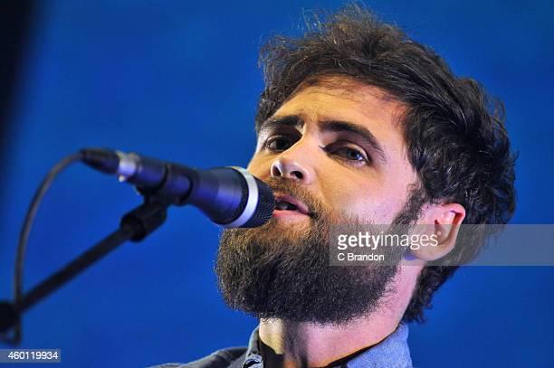 Michael David Rosenberg aka Passenger performs on stage at Eventim Apollo Hammersmith on December 7 2014 in London United Kingdom