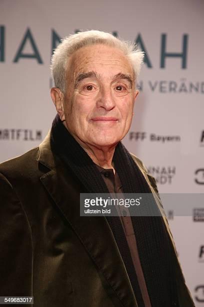 Michael Degen bei der Filmpremiere von 'Hannah Arendt' in der Lichtburg in Essen